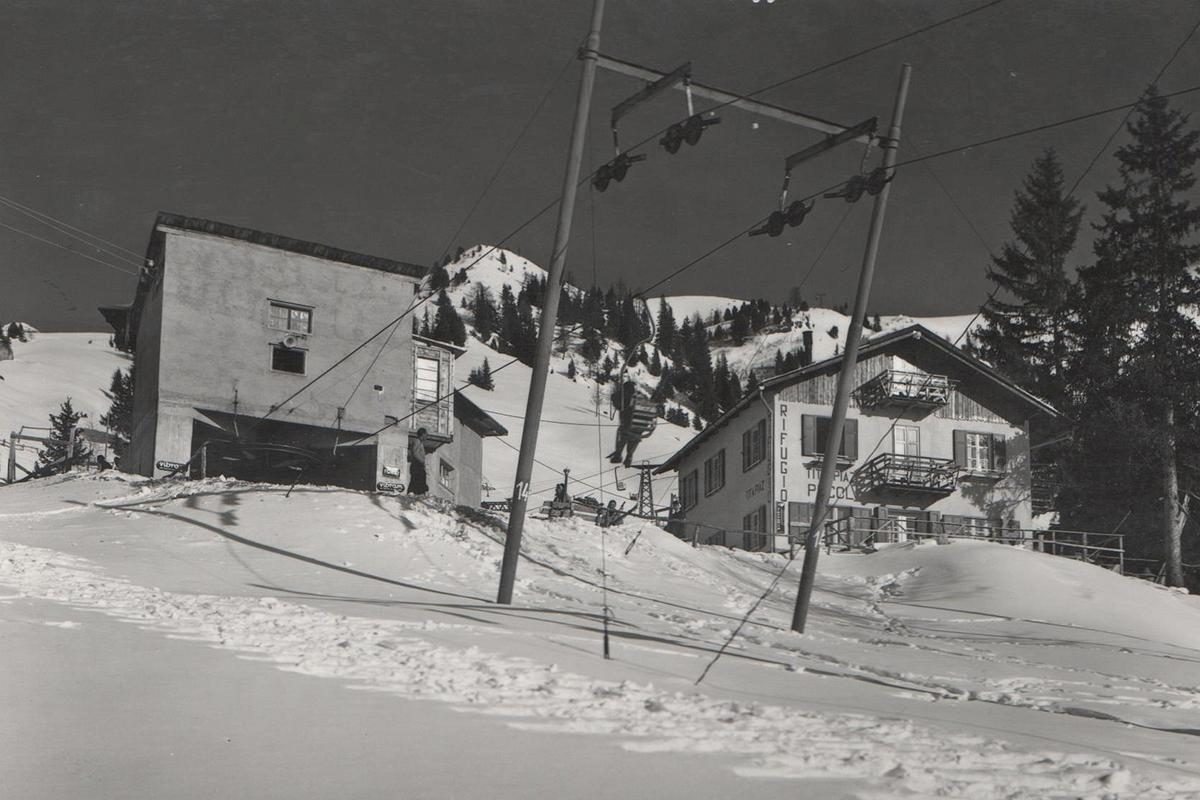 1949 Seggiovia Canazei - Pecol